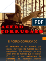 ACERO CORRUGADO exposicion