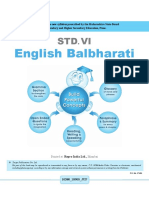 6th English Balbharati English Medium Maharashtra Board