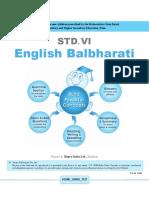 6th English Balbharati English Medium Maharashtra Board