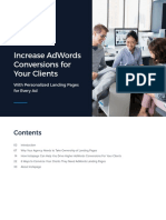 [eBook] Increase AdWords Conversions for Your Clients