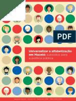 RR23PT Universalizar a Alfabetizacao Em Maceio Subsidios Para a Politica Publica