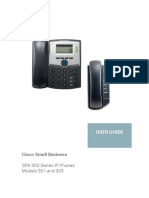 SPA 300 Series IP Phones Models 301 and 303 User Guide