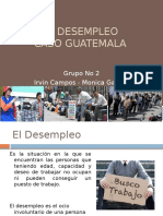El Desempleo - Guatemala