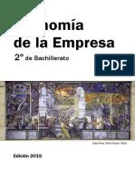 Economia de La Empresa 2º de Bachillerato 2015 (I. Romera, C. Palacios)