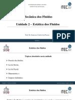 Unidade 2 - Estática dos fluidos.pdf