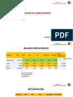 Comercializacion Min - Valorización