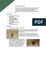 Experimento de Materia y Densidad