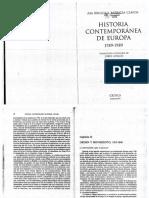 Historia contemporánea de Europa / Briggs-Clavin