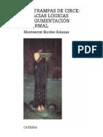 171951743 Montserrat Bordes Solanas Las Trampas de Circe Falacias Logicas y Argumentacion Informal 2011 1