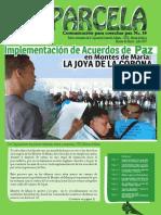 Parcela Informativa Montes de María No 14