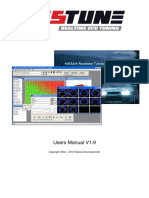 NIStune Software Users Manual