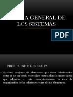 Teoria General de Los Sistemas