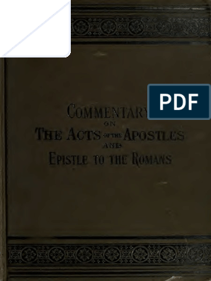 Acts - Romans - American Commentary | Acts Of The Apostles