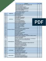 Información y Documentación - Formato de Evaluación Para Páginas Web