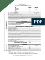 Plan de Estudio 2014