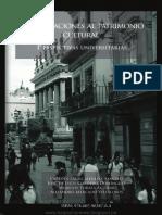 Aproximaciones Al Patrimonio Cultural; Perspectivas Universitarias
