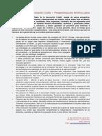 El Manifiesto de La Innovación Criolla