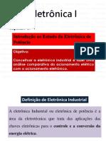 Eletrônica 1 - Capítulo 1 - 2015