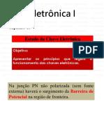 Eletrônica 1 - Capítulo 3 - 2015
