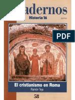 (31)Cuadernos Historia-El Cristianismo En Roma.pdf