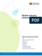 Report on the Mobile Industry