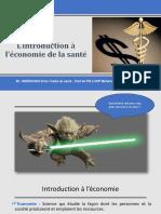 Economie de Sante Cours 2017