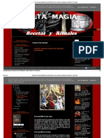 Algunos Trabajos Mágicos de Santería Afrocubana _ Alta Magia Recetas y Rituales