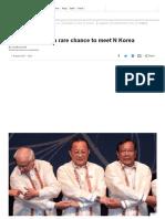 Asean Offers US a Rare Chance to Meet N Korea - BBC News