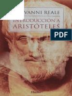 Introduccion a Aristóteles - Giovanni Reale