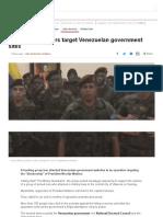 Venezuela_ Hackers Target Venezuelan Government Sites - BBC News