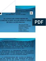 EL DESARROLLO DEL LENGUAJE Ed In51