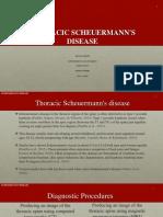 sissom thoracic spine  scheuermanns disease