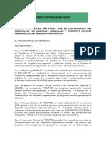 6.- D.S Nº 089-2009- EF
