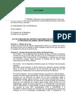 1.- Ley N° 28509