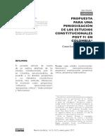 Propuesta periodizacion constiucional