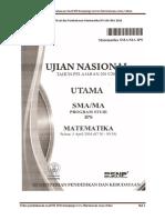 Download Pembahasan Soal Matematika IPS UN SMA 2016 (1)