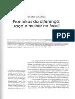 Kia Cadwell - Fronteiras Da Diferença - Raça e Mulher No Brasil