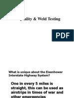 8 Weld Quality & Weld Testing