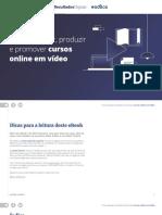 Como Planejar,Produzir e Promover Cursos Online Em Vídeo