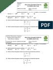 Examen algebra básica