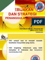 Kebijakan Dan Strategi Dbd 2015