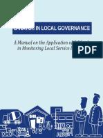B1 G-Watch in Local Governance