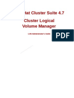 Cluster Logical Volume Manager