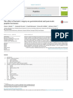 The Effect of Bariatric Surgery on Gastrointestinal and Pancreatic Peptide Hormones[3688]