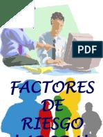 Factores de Riesgos Laborales en Power Point