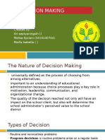 8. Decision Making