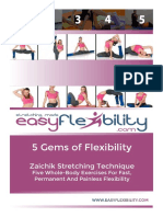 """EasyFlexibility """"5 Gems of Flexibility"""""""