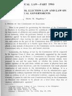 Primer Election Law