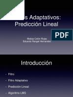 Prediccion Lineal