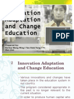 Topic 6 Innovation Adaptation and Change Education